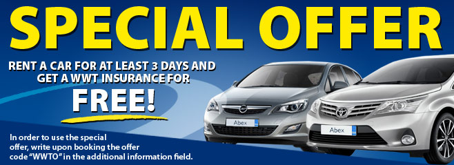 Car Hire Special Offer
